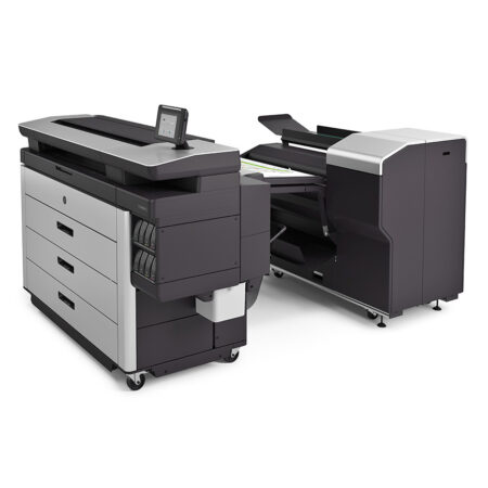 HP PageWide XL 8000 Printer_Folder_Left_with_output