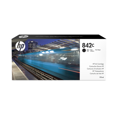 HP 842C 775-ml Black PageWide XL Ink Cartridge