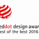 Red Dot Design Award 2016 for HP PageWide XL Printer Portfolio