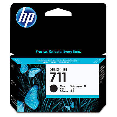 HP 711 38-ml Black Ink Cartridge