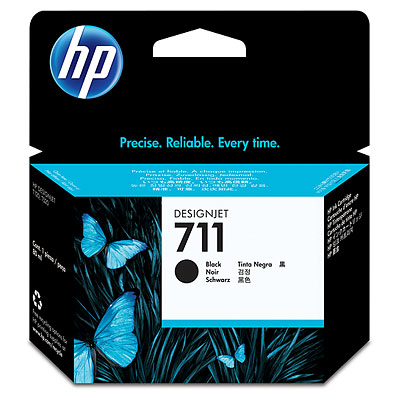 HP 711 Black DesignJet Ink Cartridge