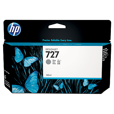 HP 727 130-ml Grey Designjet Ink Cartridge