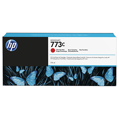 HP 773C 775-ml Chromatic Red DesignJet Ink Cartridge