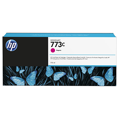 HP 773C 775-ml Magenta DesignJet Ink Cartridge