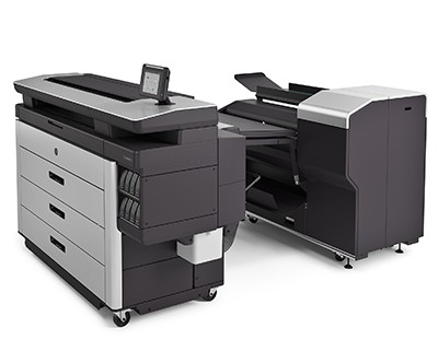 HP PageWide XL 8000 Printer_Folder_Left