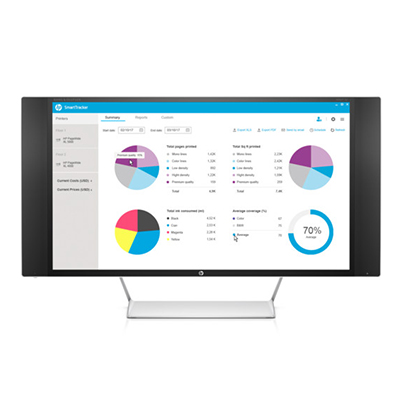 HP SmartTracker Software for PageWide XL 8000 Series