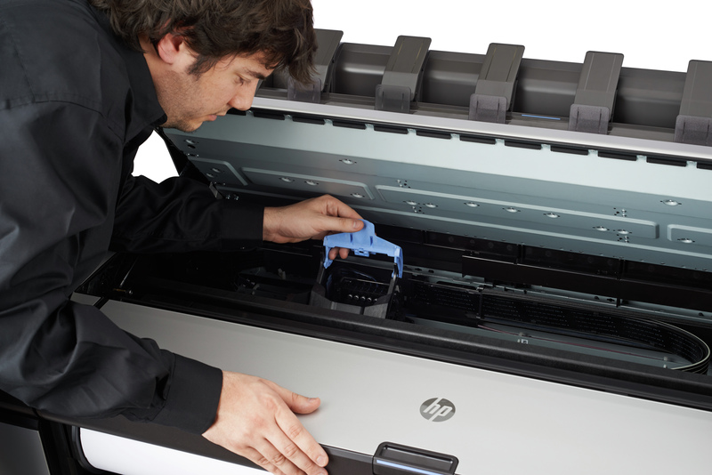 HP DesignJet T3500 Servicing