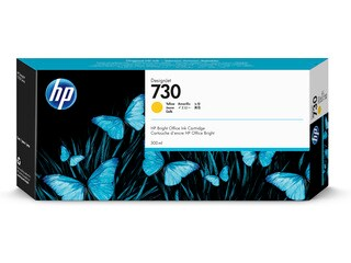HP 730 300-ml Yellow DesignJet Ink Cartridge