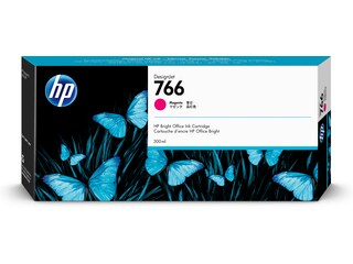 HP 766 300-ml Magenta DesignJet Ink Cartridge